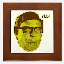 Ribbit Framed Tile