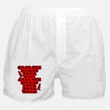 Oral vs Anal Boxer Shorts