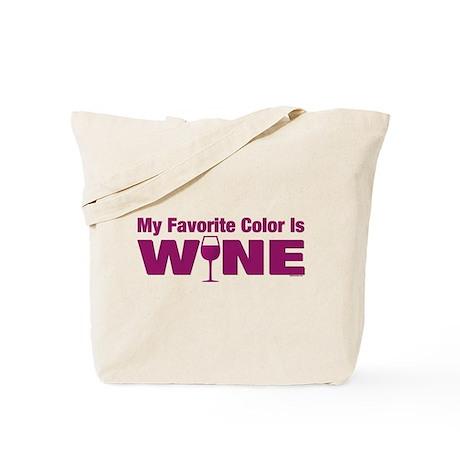 Favorite Color is Wine Tote Bag