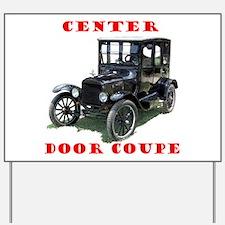 Funny Vehicle Yard Sign