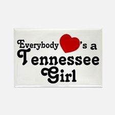 Everybody Hearts a Tennessee Rectangle Magnet