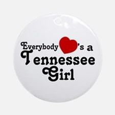 Everybody Hearts a Tennessee Ornament (Round)