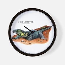 Nile Monitor Wall Clock