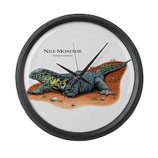 Nile Monitor Large Wall Clock