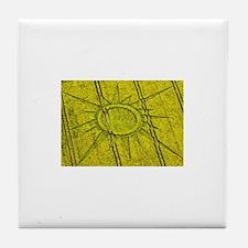 crop circles Tile Coaster