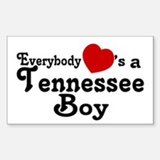 Everybody Hearts a Tennessee Decal