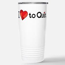 Love to Quilt Travel Mug