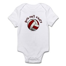 Volleyball Team - Red Infant Bodysuit