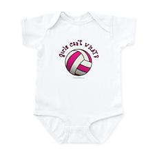 Volleyball Team - Pink Infant Bodysuit