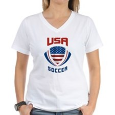 Soccer Crest USA Shirt