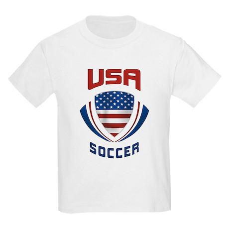 Soccer Crest USA Kids Light T-Shirt