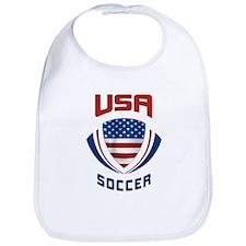 Soccer Crest USA Bib