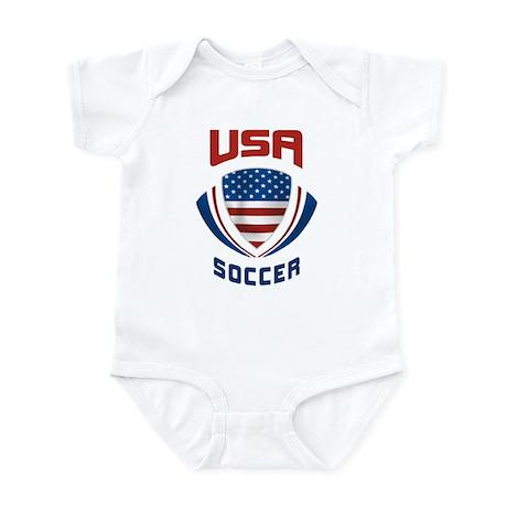 Soccer Crest USA Infant Bodysuit