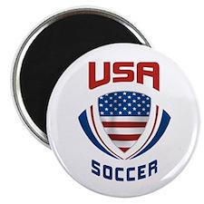 Soccer Crest USA Magnet