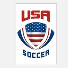 Soccer Crest USA Postcards (Package of 8)