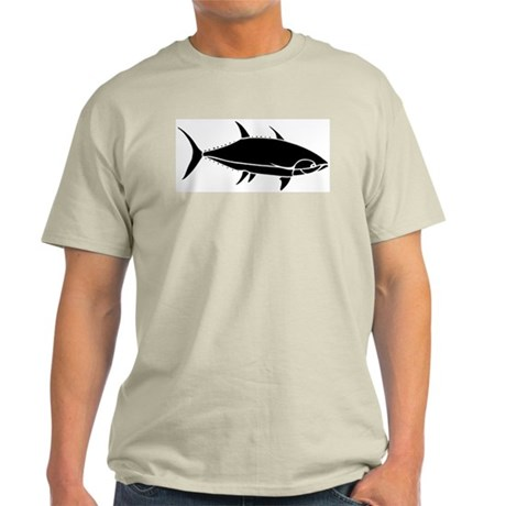 Yellow Tuna Ash Grey T-Shirt