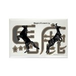 Magnificently Baka Rectangle Magnet (100 pack)