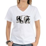 Magnificently Baka Women's V-Neck T-Shirt