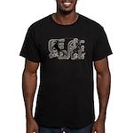 Magnificently Baka Men's Fitted T-Shirt (dark)