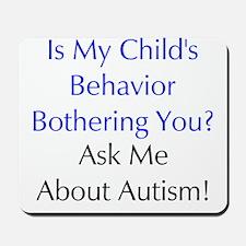 Autism/Sensory Processing Mousepad