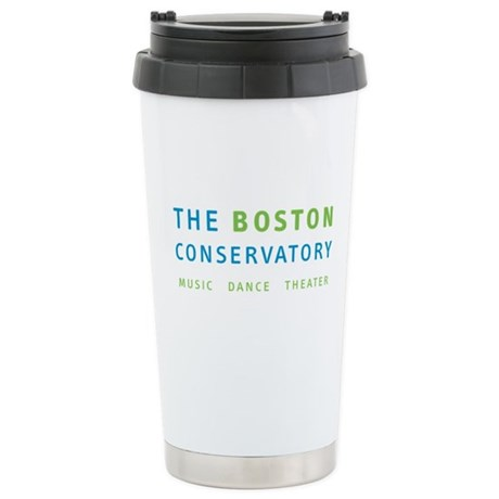 The Boston Conservatory Stainless Steel Travel Mug