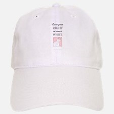 Right to Wear White Baseball Baseball Cap