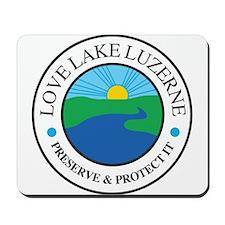 Lake Luzerne Mousepad