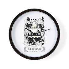 Thompson I Wall Clock