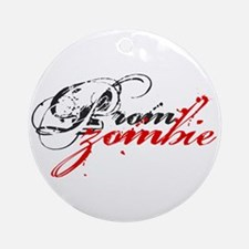 Prom Zombie Ornament (Round)