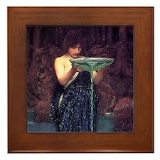 Circe Invidiosa Framed Tile