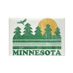 Minnesota Rectangle Magnet (10 pack)