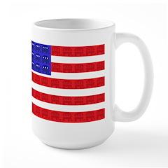 American Flag Republican Desi Mug