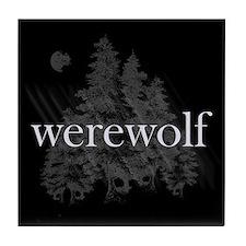 Werewolf Forest Tile Coaster