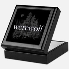 Werewolf Forest Keepsake Box