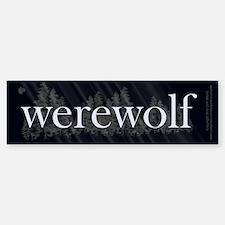 Werewolf Forest Sticker (Bumper)