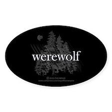 Werewolf Forest Decal