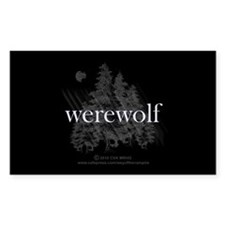Werewolf Forest Decal