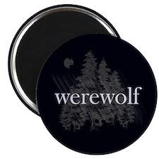 Werewolf Forest Magnet