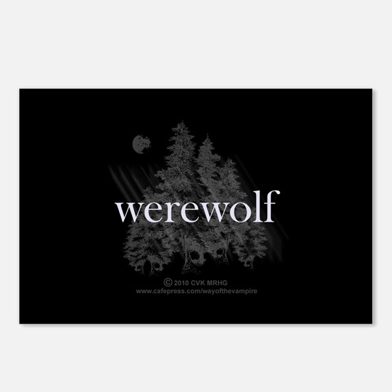 Werewolf Forest Postcards (Package of 8)
