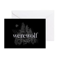 Werewolf Forest Greeting Cards (Pk of 20)
