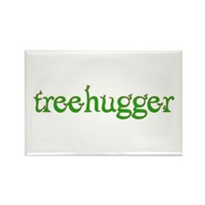 Treehugger Rectangle Magnet