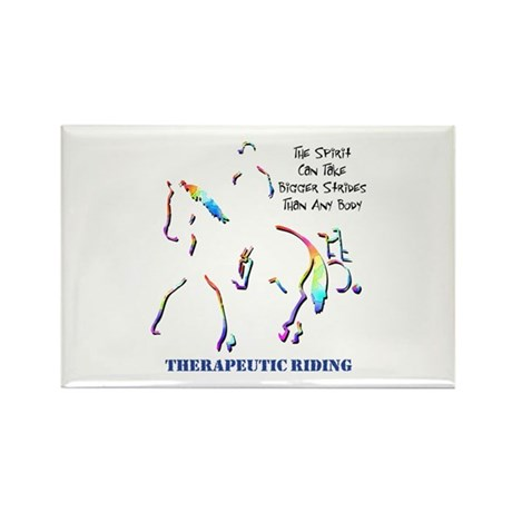 Therapeutic Riding Rectangle Magnet