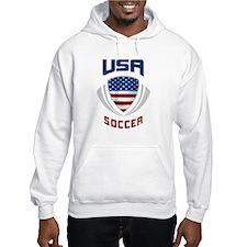 Soccer Crest USA blue Hoodie