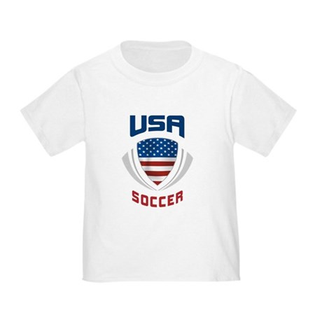 Soccer Crest USA blue Toddler T-Shirt