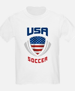 Soccer Crest USA blue T-Shirt