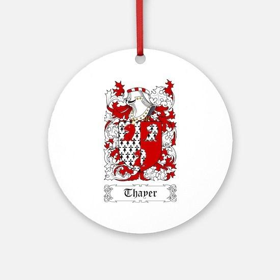 Thayer Ornament (Round)