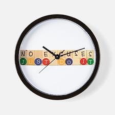 Funny Activism Wall Clock