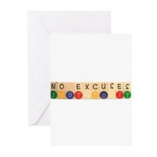 Cute Excuse Greeting Cards (Pk of 20)