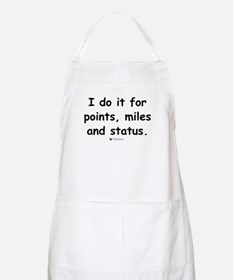 Points, Miles and Status -  BBQ Apron