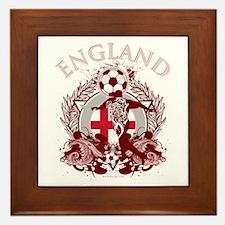 England Soccer Framed Tile